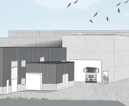 Nieuwe aanbouw Vapo - GDM verhuist naar Dadizele